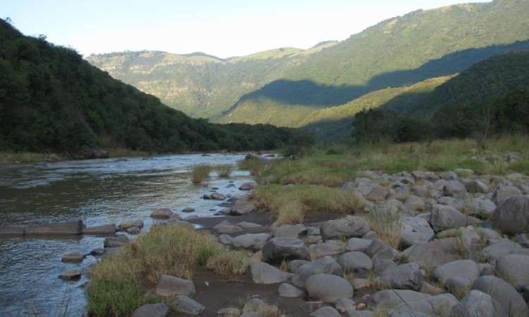 Umkomaas River Valley in Richmond
